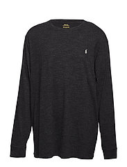 Classic Fit Crewneck T-Shirt - BLACK MARL HEATHE