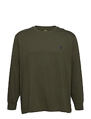 Classic Fit Crewneck T-Shirt - ESTATE OLIVE/C498