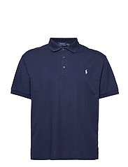 Classic Fit Stretch Mesh Polo - SPRING NAVY HEATH
