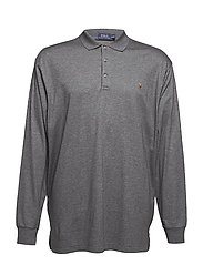 Classic Fit Soft-Touch Polo - FORTRESS GREY HEA