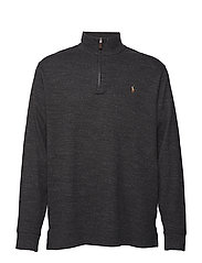 17de2e2e5a313 Estate Rib Half-Zip Pullover - BLACK MARL HEATHE