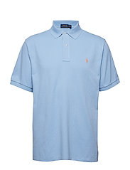 Classic Fit Mesh Polo Shirt - BABY BLUE