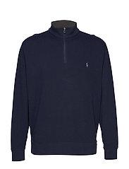 Luxury Jersey Pullover - AVIATOR NAVY