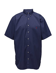Classic Fit Cotton Twill Shirt - NEW CLASSIC NAVY