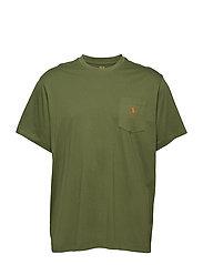 407fc74568c Classic Fit Pocket T-Shirt - SUPPLY OLIVE