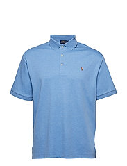 Classic Fit Soft-Touch Polo - SOFT ROYAL HEATHE