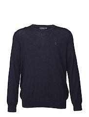 Washable Merino Wool Sweater - HUNTER NAVY