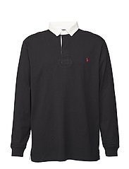The Iconic Rugby Shirt - POLO BLACK
