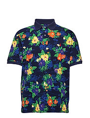 Classic Fit Sailboat Polo - CARIBBEAN FLORAL