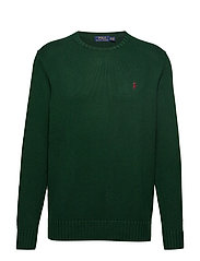 Cotton Crewneck Sweater - COLLEGE GREEN