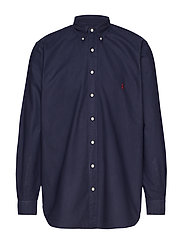 Classic Fit Oxford Shirt - CRUISE NAVY