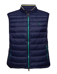 LIGHT WEIGHT PACKABLE DOWN VEST - FRENCH NAVY