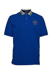 Classic Fit Mesh Polo Shirt - SAPPHIRE STAR