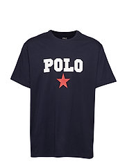 Classic Fit Graphic Tee - AVIATOR NAVY