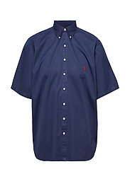 Classic Fit Twill Shirt - NEWPORT NAVY