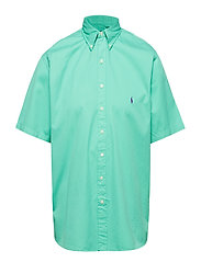 Classic Fit Twill Shirt - SUNSET GREEN