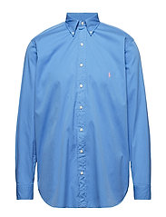 Classic Fit Twill Shirt - HARBOR ISLAND BLU