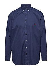 Classic Fit Twill Shirt - NEWPORT NAVY
