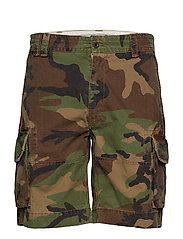 Classic Fit Camo Cargo Short - SURPLUS CAMO