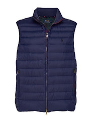 Packable Down Vest - CRUISE NAVY