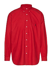 Classic Fit Oxford Shirt - PIONEER RED