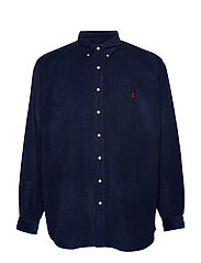 Classic Fit Corduroy Shirt - CRUISE NAVY