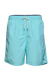 Traveler Swim Trunk - HAMMOND BLUE