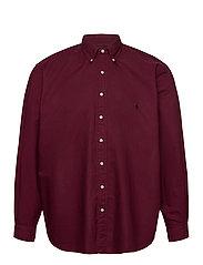 Garment-Dyed Oxford Shirt - CLASSIC WINE