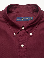 Polo Ralph Lauren Big & Tall - Garment-Dyed Oxford Shirt - casual shirts - classic wine - 2