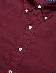 Polo Ralph Lauren Big & Tall - Garment-Dyed Oxford Shirt - casual shirts - classic wine - 3