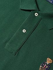 Polo Ralph Lauren Big & Tall - Anorak Bear Mesh Polo Shirt - kortærmede - college green - 3