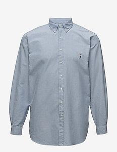 Classic Fit Cotton Sport Shirt - oxford overhemden - blue