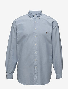 Classic Fit Cotton Sport Shirt - oxford shirts - blue
