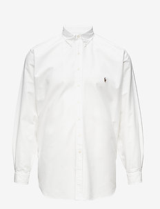 Classic Fit Cotton Sport Shirt - oxford overhemden - white