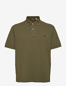 Classic Fit Mesh Polo Shirt - korte mouwen - company olive/c97