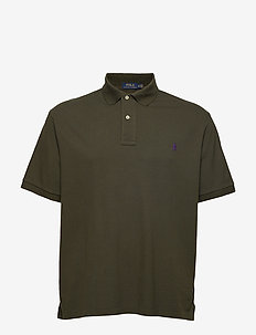 Classic Fit Mesh Polo Shirt - ESTATE OLIVE/C498