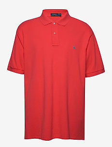 Classic Fit Mesh Polo Shirt - RACING RED/C6934