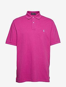 Classic Fit Mesh Polo Shirt - ROYAL MAGENTA