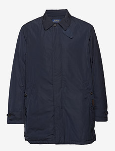 Water-Repellent Coat - AVIATOR NAVY