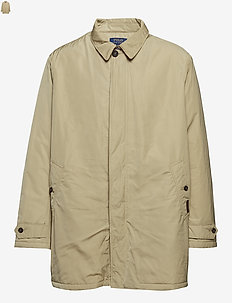 Water-Repellent Coat - COASTAL BEIGE