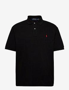 Classic Fit Mesh Polo Shirt - kortærmede - polo black/c3870