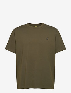 Classic Fit Crewneck Tee - basis-t-skjorter - company olive/c97