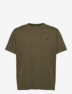 Classic Fit Crewneck Tee - basic t-shirts - company olive/c97