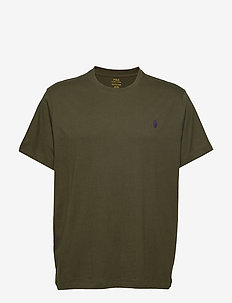 Classic Fit Crewneck Tee - ESTATE OLIVE/C498