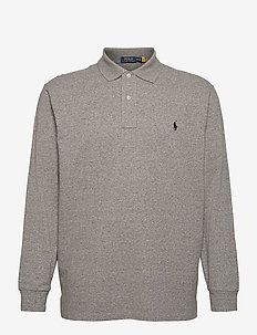 Classic Fit Long-Sleeve Polo - langærmede - canterbury heathe