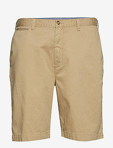 Classic Fit Cotton Chino Short - LUXURY TAN