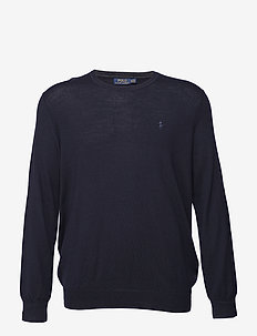 Washable Merino Wool Sweater - HUNTER NAVY