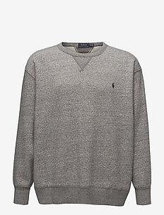Cotton-Blend-Fleece Sweatshirt - DARK VINTAGE HEAT