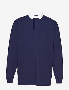 The Iconic Rugby Shirt - langærmede - french navy/c3924