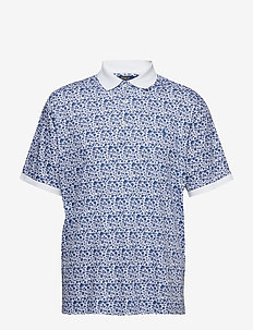 Classic Fit Soft-Touch Polo - WHITE SPRING FLOR